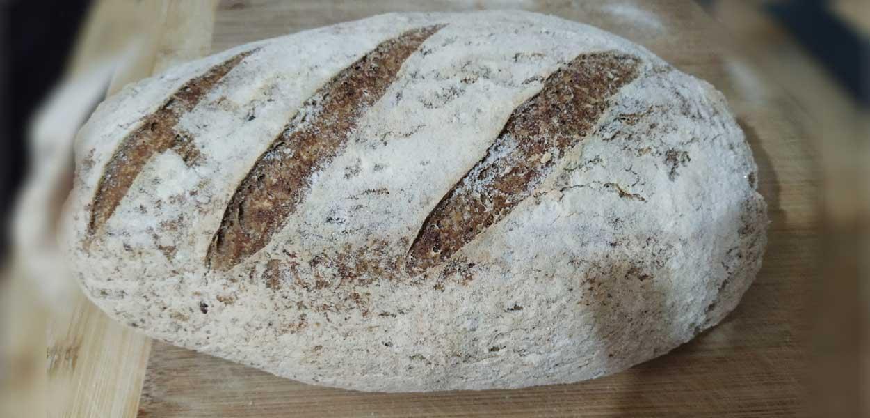 לחם מחמצת ללא גלוטן